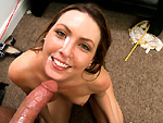 Pic of Desirae Wood in backroomfacials episode: Hot Red Head Starlet 