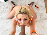 blowjobfridays: Amazing BJ from this blonde girl