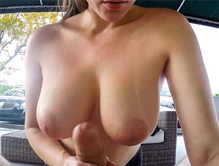 Titty fucking until I bust!