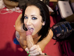 Pic of Jayden Jaymes in blowjobfridays episode: Jayden Jaymes at Exxxotica