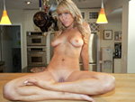 blowjobfridays: Lacey Gray Gets Down & Dirty In The Kitchen