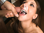 Pic of Katie Jordin in blowjobfridays episode: Deep-Throat The Mojito Stick w/ Katie Jordin