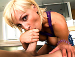 blowjobfridays: Deep throat blondy feat. Lexi Swallow
