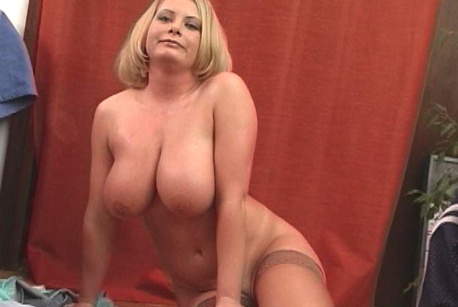 Blonde With Huge Tits Gets Her Pussy Fucked Right!