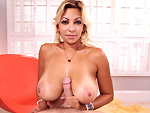 Pic of Jazmyn in milfsoup episode: Latin MILF loves young dick