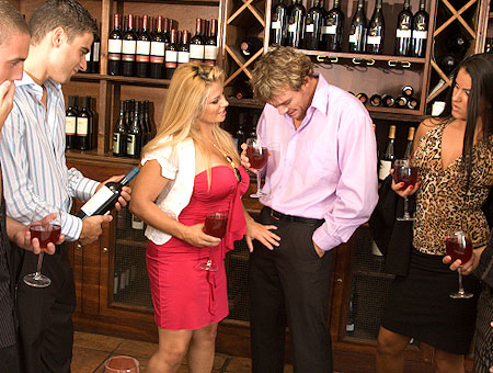 Wine Tasting With A Busty Milf Milf Soup