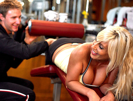 The MILF Naked Gym Workout Milf Soup