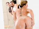 Pic of Sara Jay in milfsoup episode: Co-ed Locker Room