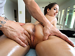 Pic of Pornstarspa in Rubbing ass and pussy