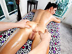 Pic of Pornstarspa in Oops, his dick fell out while massaging