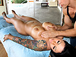 Pic of Pornstarspa in Mason Moore gets the Rub & Tug