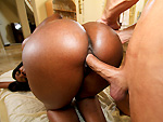 Pic of Nyomi Banxxx in pornstarspa episode: Big Black Tits Massaged