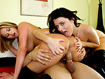 Pic of Sophie Dee in remaster episode: Big asses with two girls