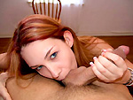 Pic of Remaster in Red Haired Girl Sucks Big Cock