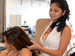 Pic of Evie Delatosso in workinglatinas episode: Let me blow your hair