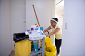 Cleaning Service Lady