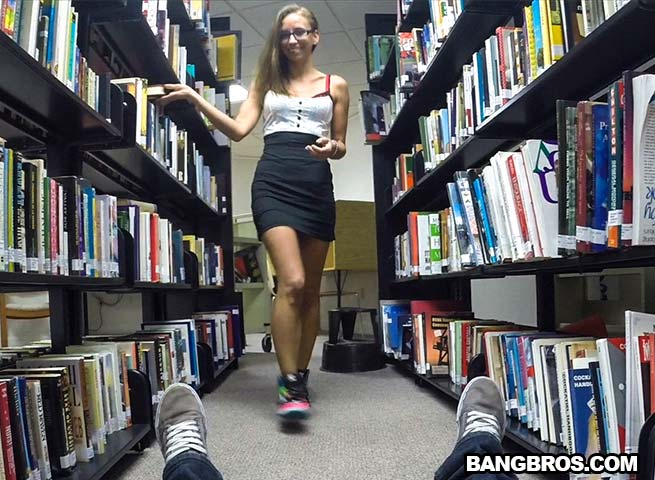 library the Blowjob in
