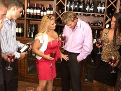 Wine Tasting with a Busty Milf