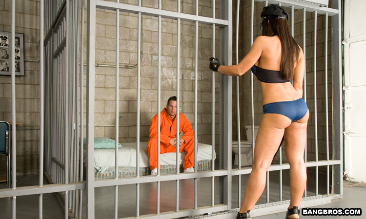 Jail milf in