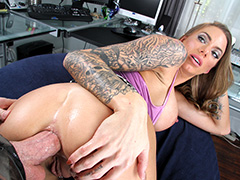 PornStar Juelz Ventura Fucked Balls Deep In The Ass!