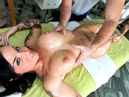 Christy's hot rubdown